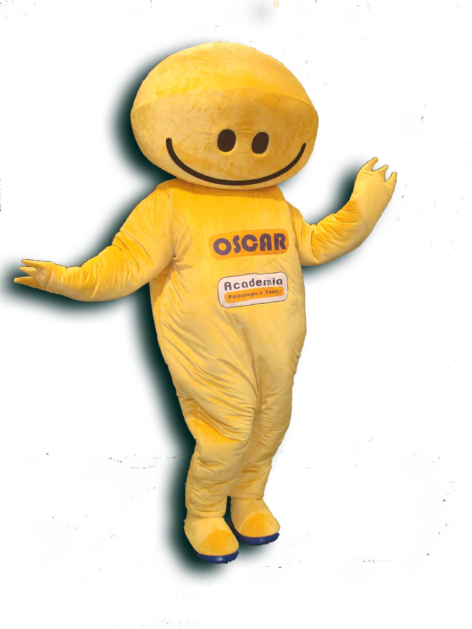Mascote Partyval amarela