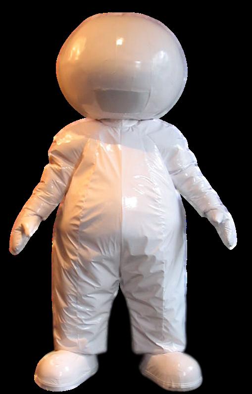 Mascote Partyval Robot