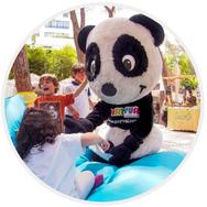 mascote panda