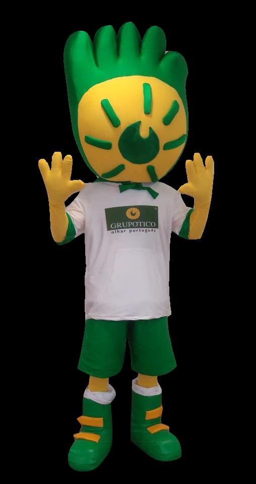 Mascote Partyval Olho Vivo