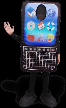 mascote telefone
