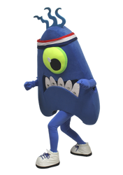 Mascote Partyval Monstrinhos Academia do