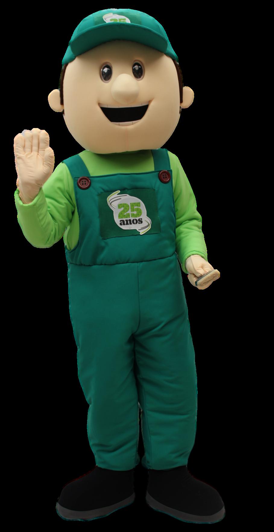 Mascote Partyval Homem aki