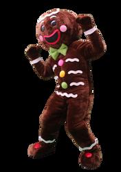 Mascote Partyval Bolacha Gengibre Obidos