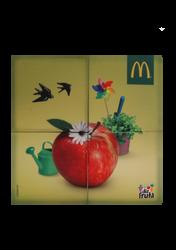Mascote Partyval Puzzle Mc Donald's 2