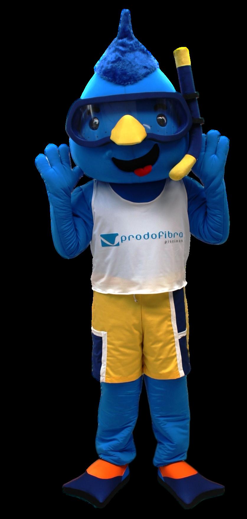 Mascote Partyval Gota Nadadora