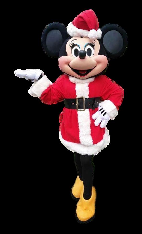 Mascote Partyval Minnie Natal