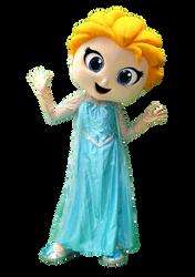 Mascote Partyval  Elsa Frozen 2.png