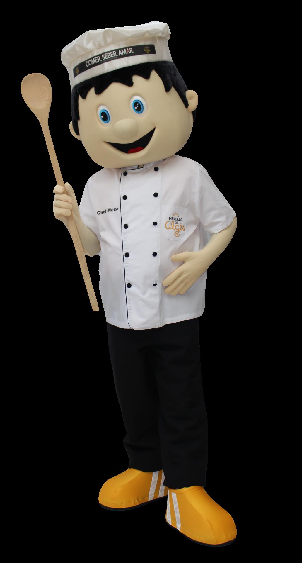 Mascote_Partyval_Cozinheiro_Algés