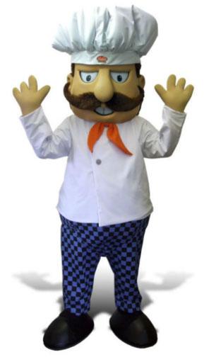 Mascote Partyval cozinheiro  luigi
