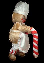 Mascote Partyval Bolacha Gengibre Cozinheira 2
