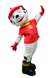 Mascote Partyval Patrulha Pata Marshall