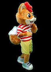 Mascote Partyval Raposas Pafi Intermarch