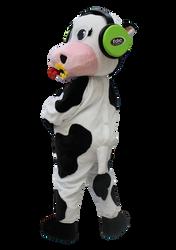 Mascote Partyval Vaca Fabrica de Espetac