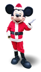 Mascote partyval Mickey Natal 2
