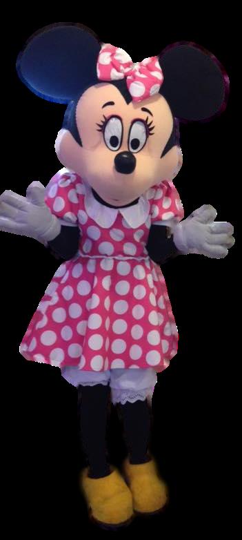 Mascote Partyval Minnie Rosa 1