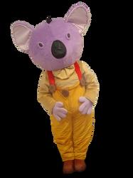 Mascote Partyval Koala