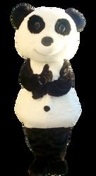 Mascote Partyval panda 4