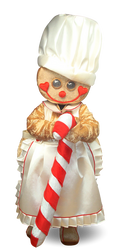 Mascote Partyval Natal Bolacha II