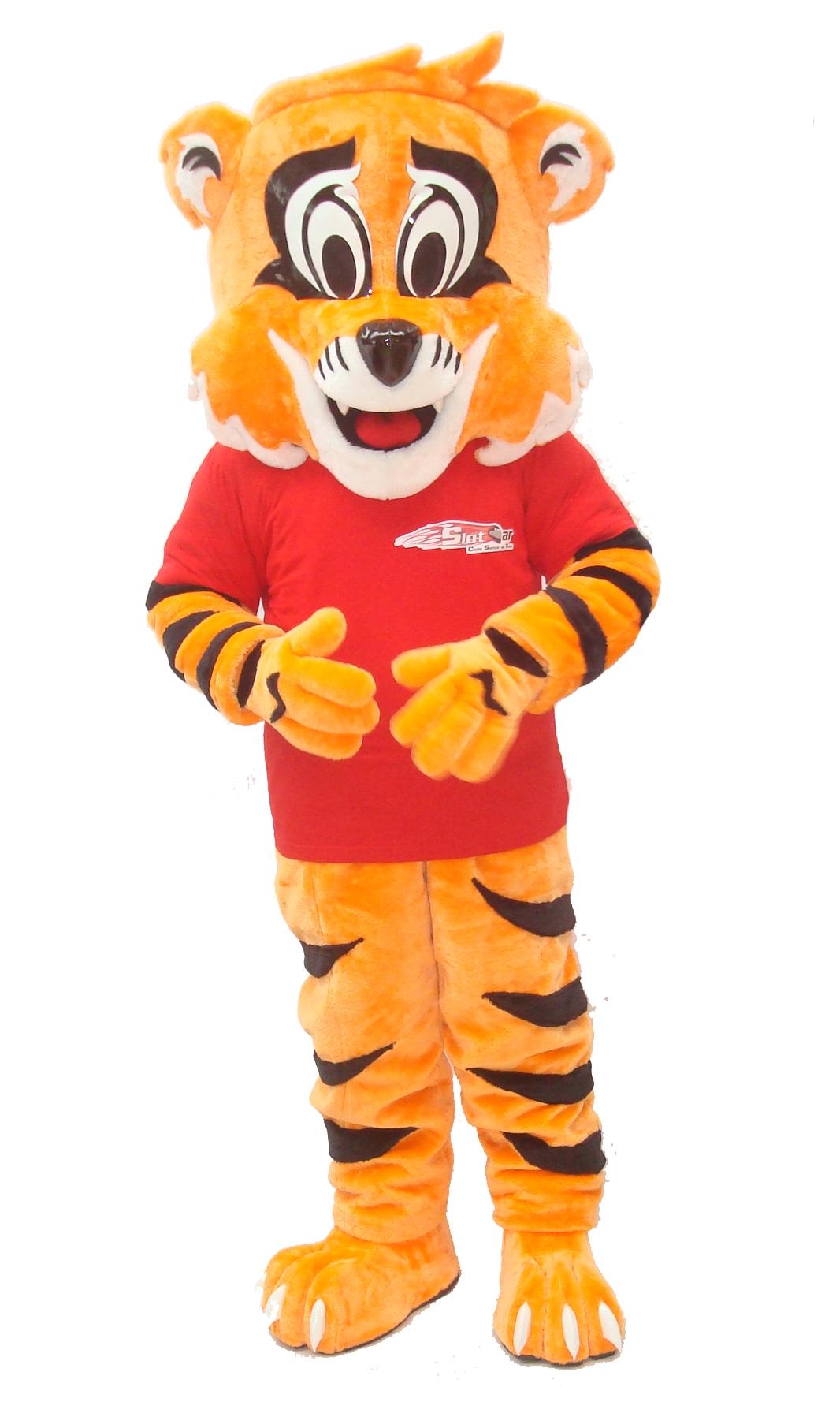 Mascote Partyval tigre car