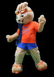 Mascote Partyval Lontra 1