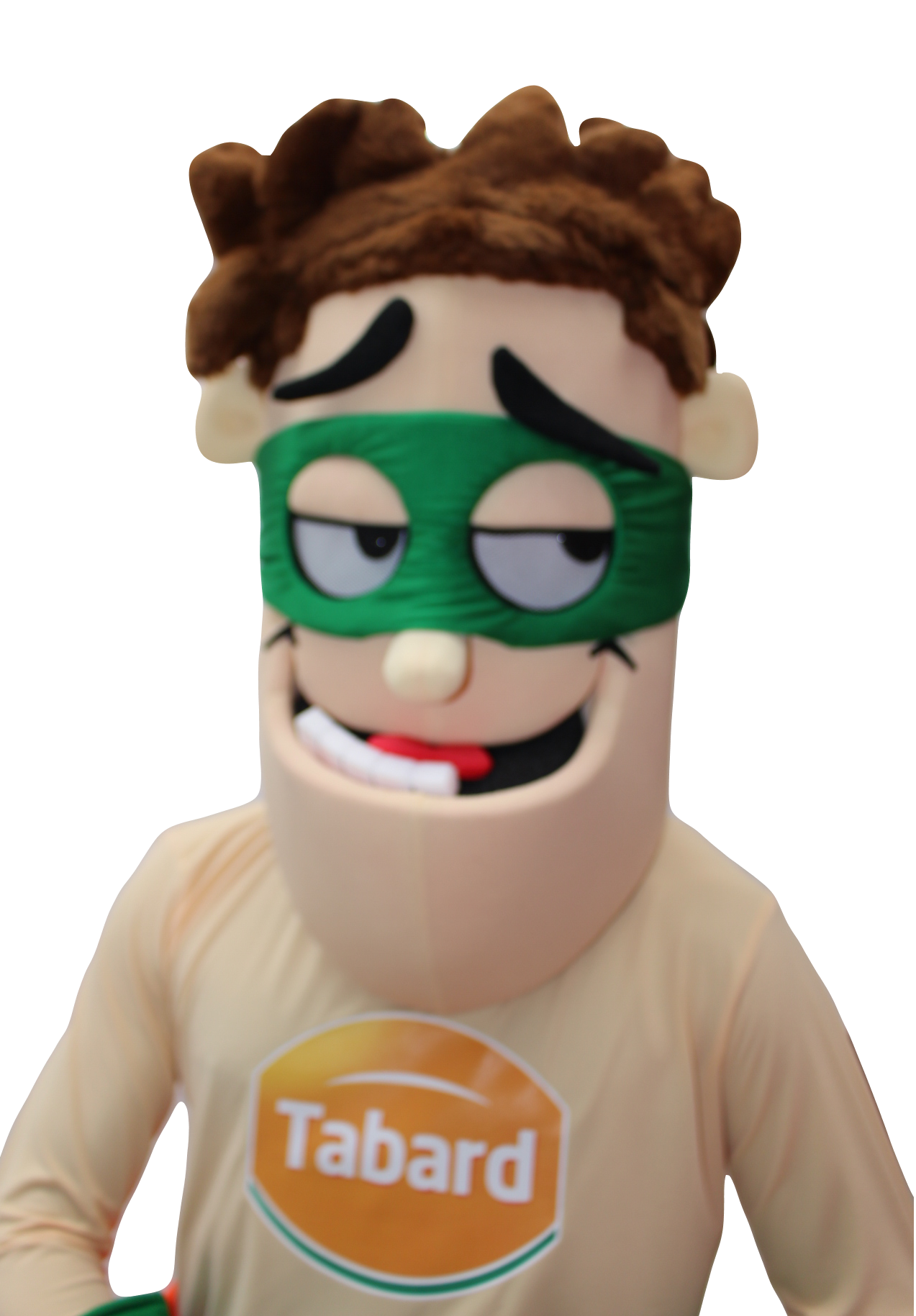 Mascote Partyval Heroi Tabard a