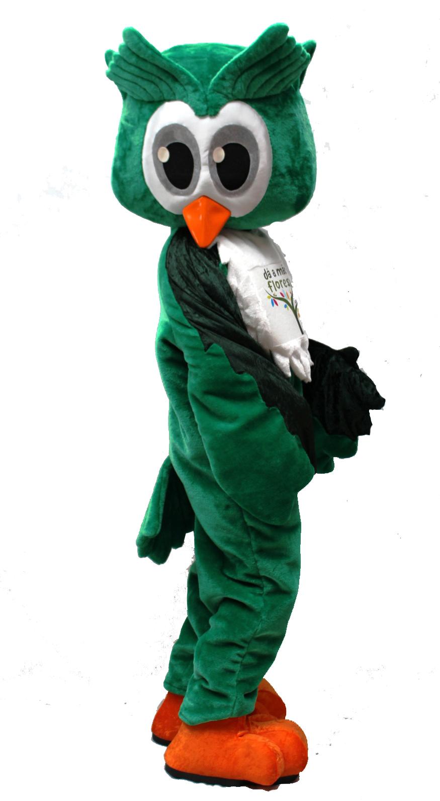 Mascote Partyval mocho floresta