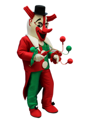 Mascote Partyval Palghaço Carnaval Sines 2