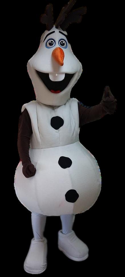 Mascote Partyval olaf