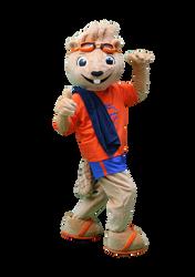 Mascote Partyval Lontra 2