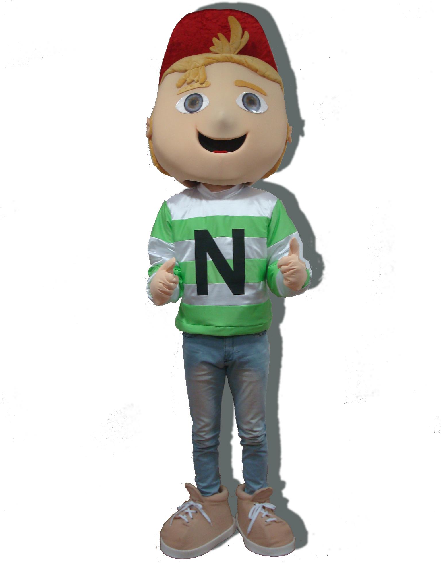 Mascote Partyval  neppy