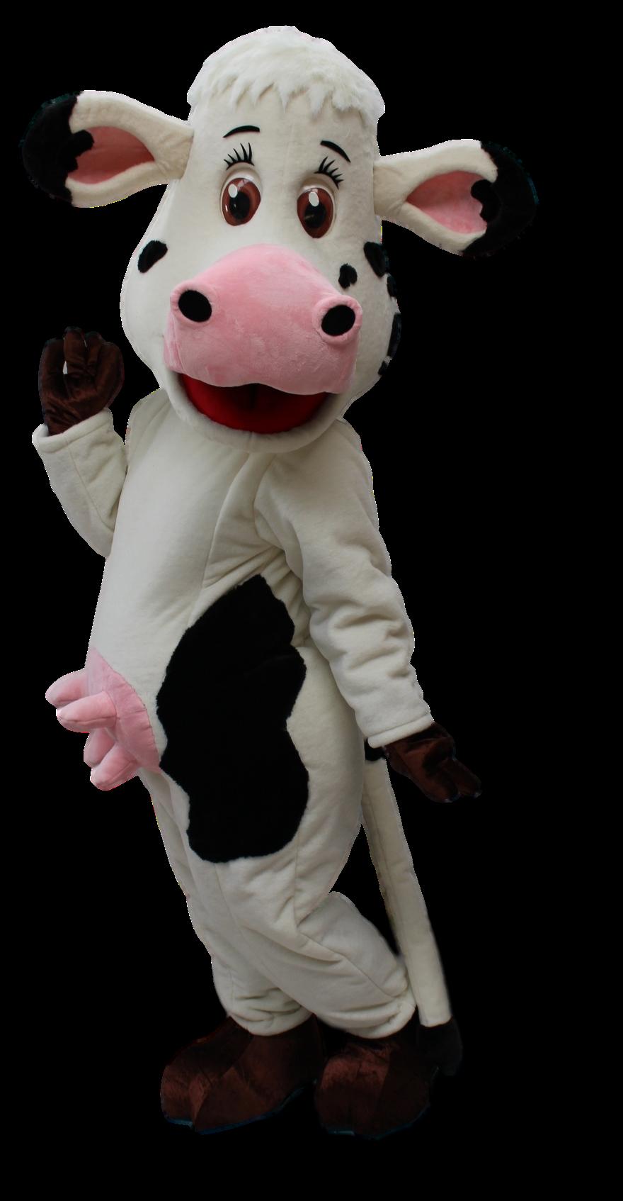 Mascote Partyval Vaca Quieta 1