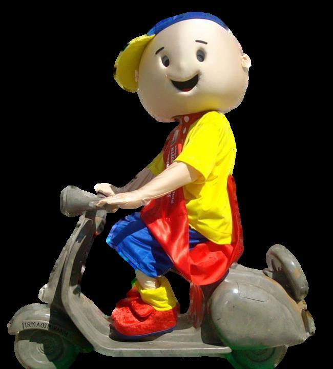 mascote partyval menino ruca na mota
