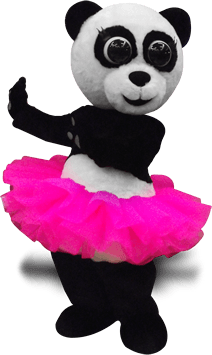panda character costume