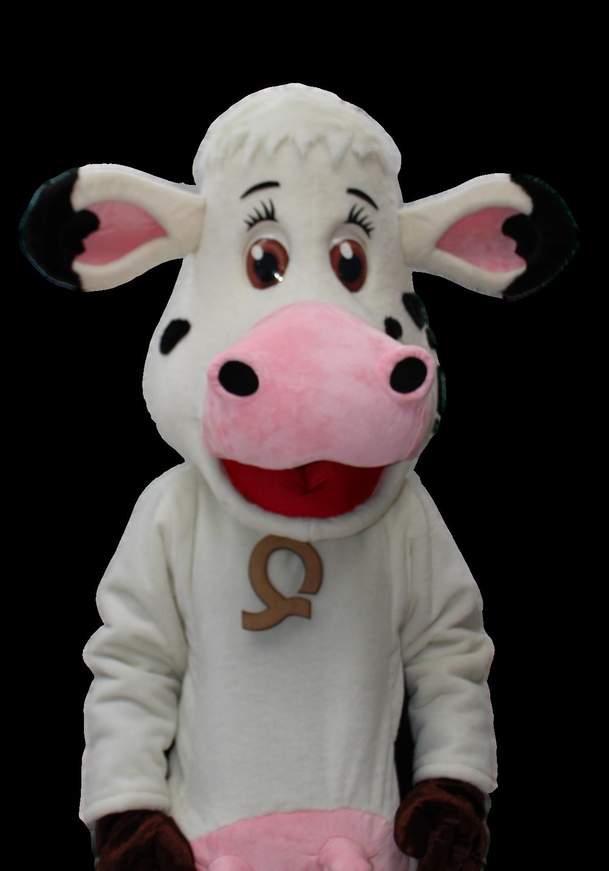 Mascote Partyval Vaca Quieta 2