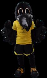 Mascote Partyval Corvo Correr Lisboa I.p