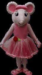 Mascote Ratinha Angelina Ballerina 3.png