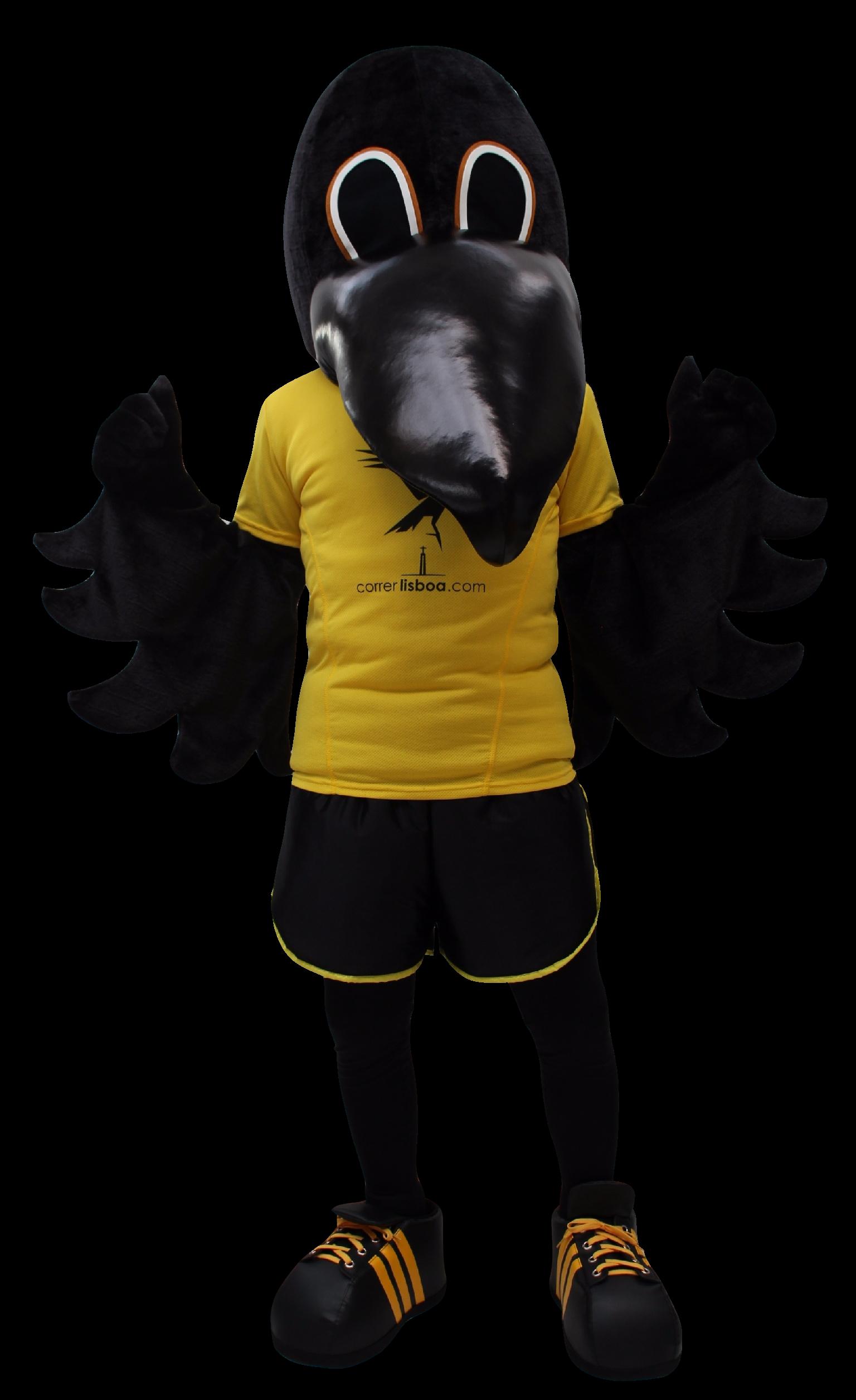 Mascote Partyval Corvo Correr Lisboa I