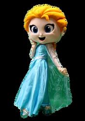 Mascote Partyval  Elsa Frozen 5.png