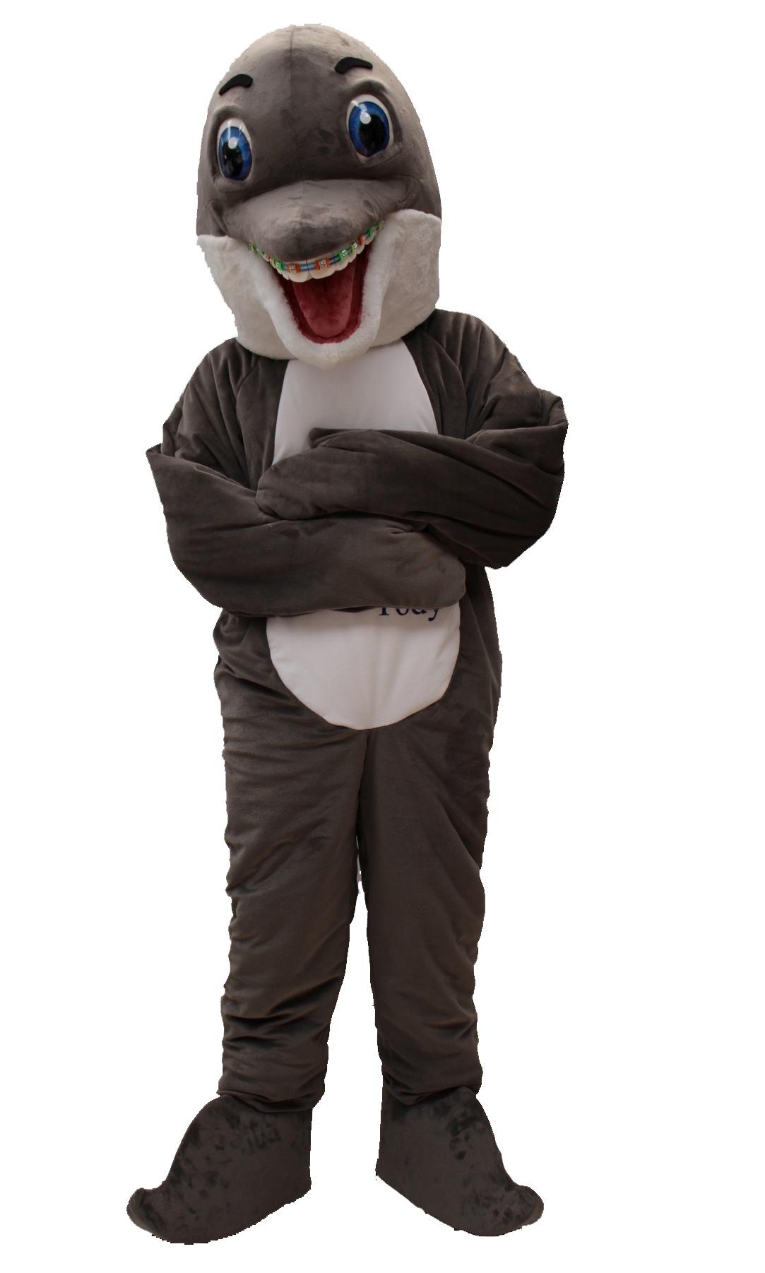 Mascote Partyval golfinho