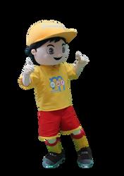 Mascote Partyval Simão Barcelos