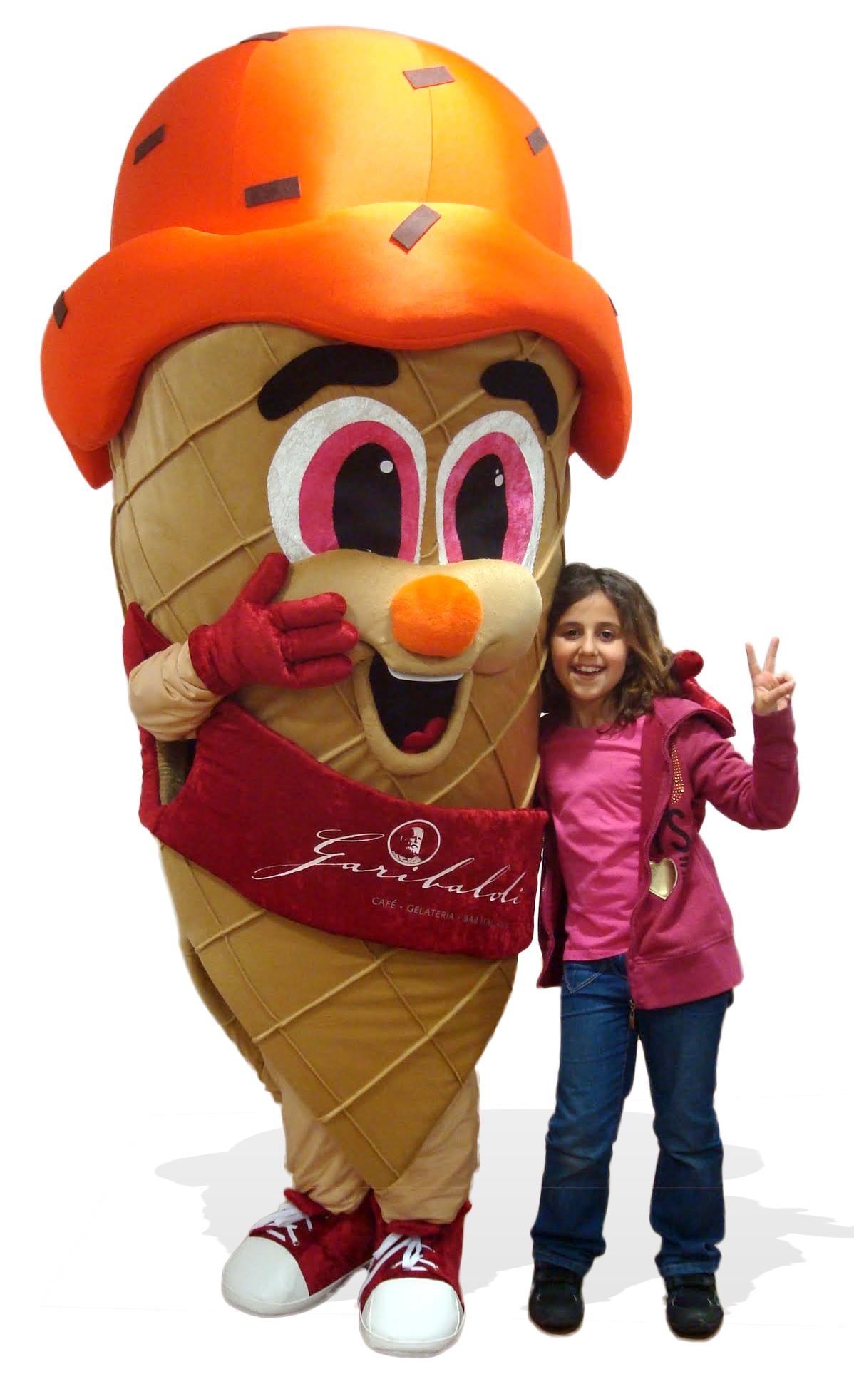 Mascote Partyval sorvete 4