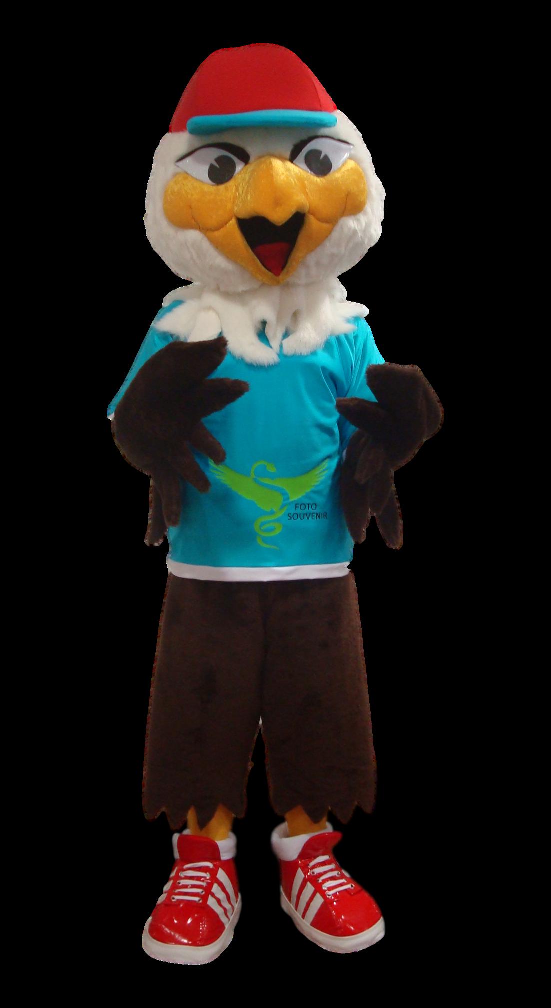 Mascote Partyval aguia