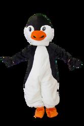 Mascote Partyval Pinguim
