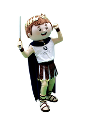 Mascote Partyval Romano Chaves Termas&Sp