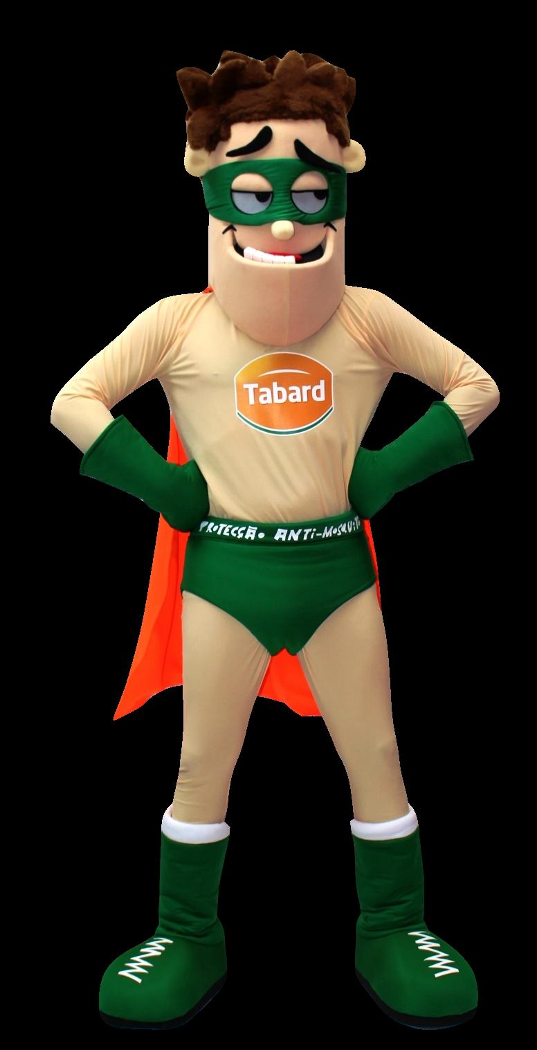 Mascote Partyval Heroi Tabard