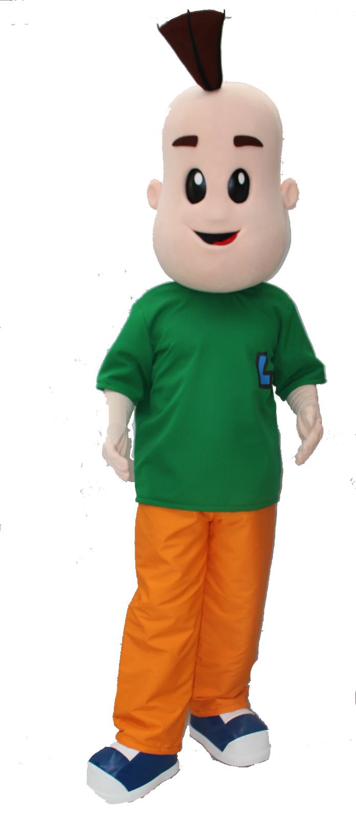 Mascote Partyval Lucas