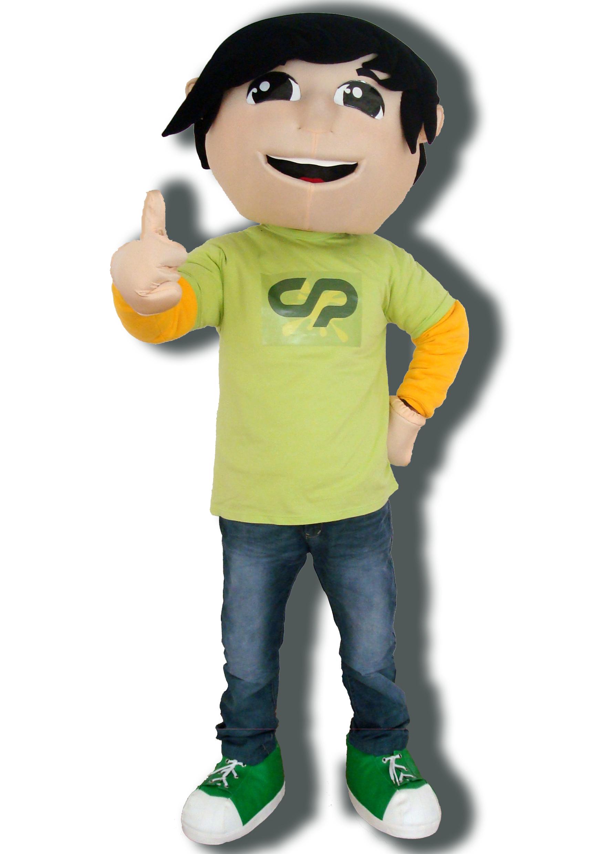 Mascote Partyval cp kimboy