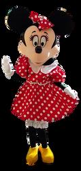 Mascote Partyval Minnie a