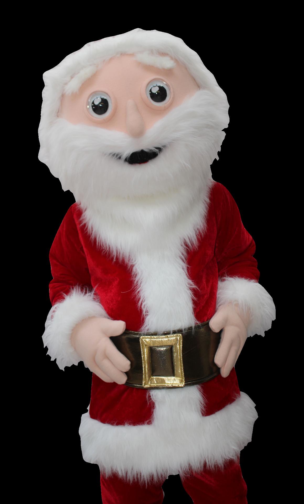 Mascote Partyval Pai Natal a